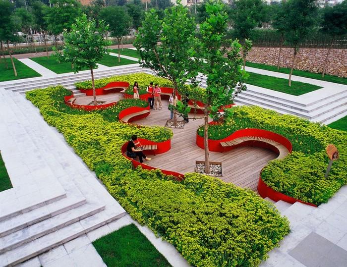 Дизайн парковый